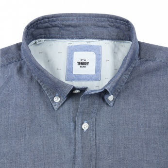 Camisa Severino denim oscuro