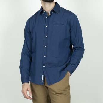 Camisa Saturnino denim