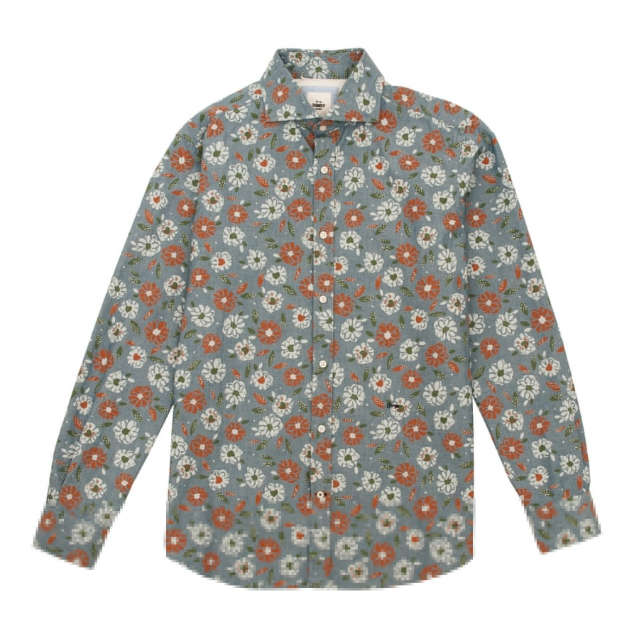 Camisa Venancio estampada