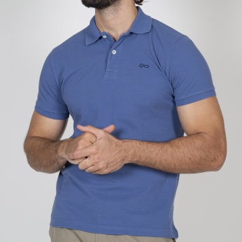 Polo Rulo azul intenso