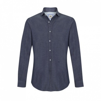 Camisa Venancio denim oscuro