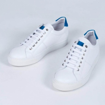 Sneakers Estani blanco azul