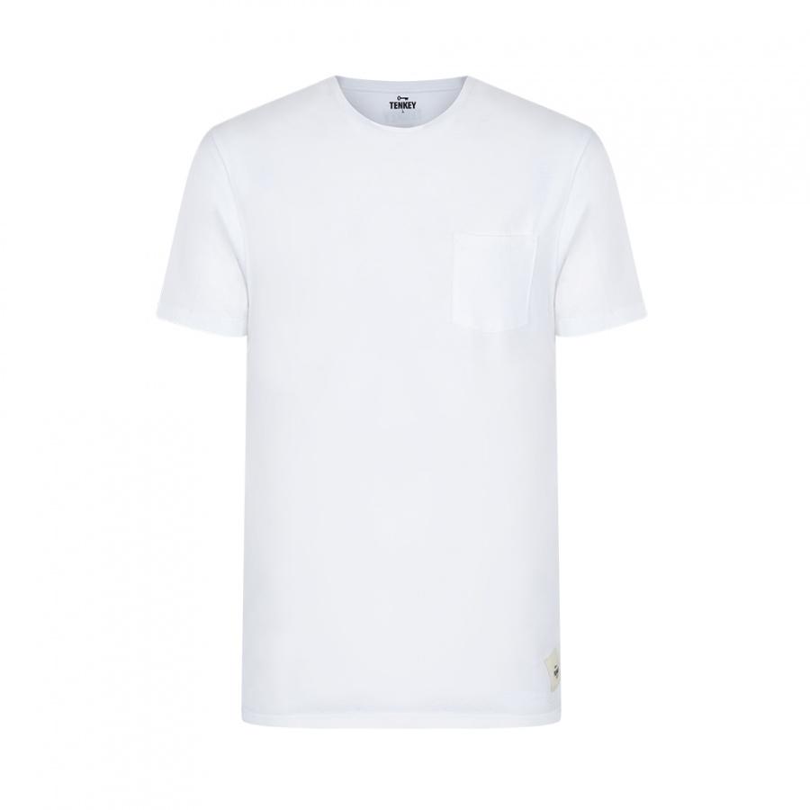 c525bfdfc Camiseta Blanca Pura Tenkey