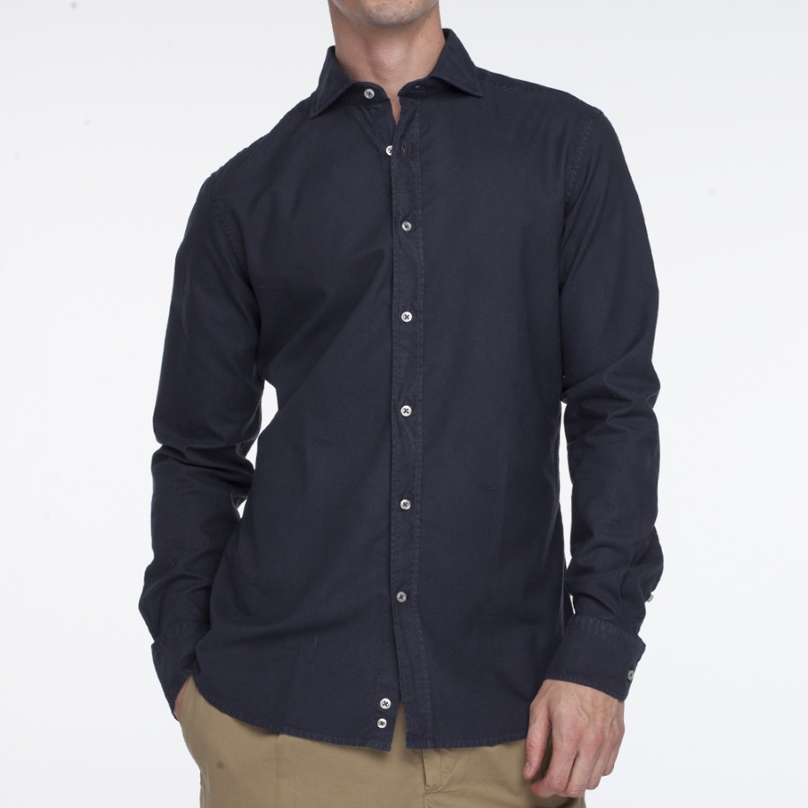 Camisa Magallanes denim oscuro