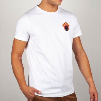 Camiseta Maki con Bordado Indio