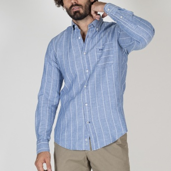 Camisa Severino rayas denim