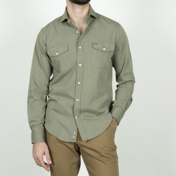 Camisa Country khaki