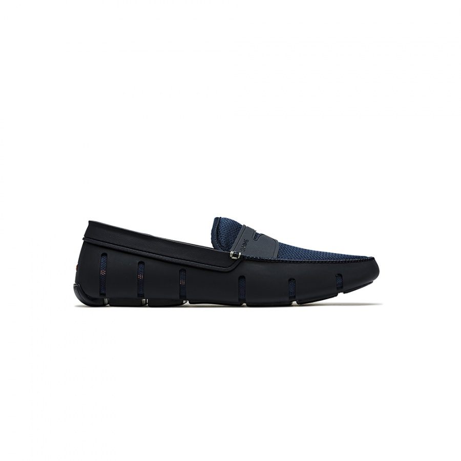Zapatos Penny Loafer Azules